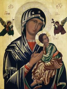 Virgin Mary and Christ Child icon