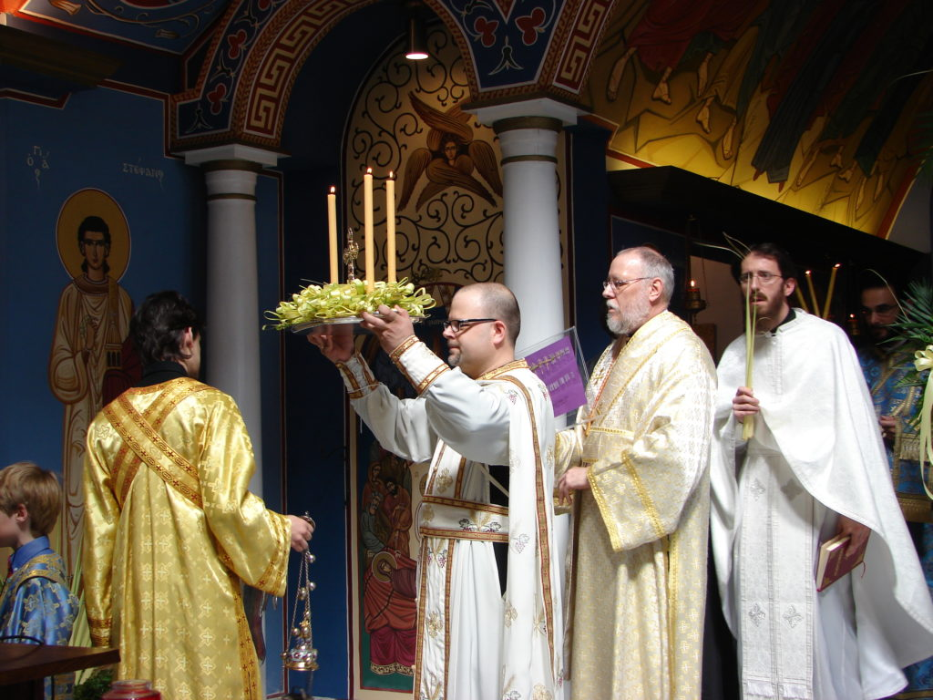 Fr Michael, Palm Sunday