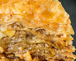 Baklava Greek pastry