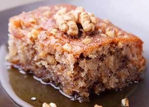 karathopita Greek pastry