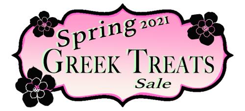 Spring Greek Treats Sale 2021
